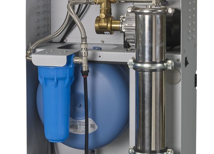 Nemlendiriciler için su filtresi