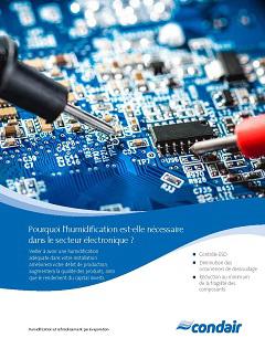 humidification et électronique