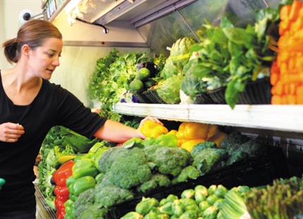 Befugtning øger holdbarheden på frugt og grønt