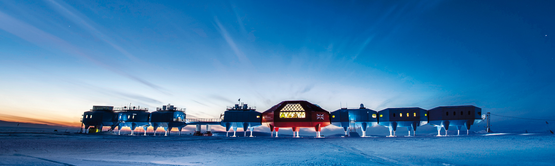 Condair humidifies Halley VI Station in Antarctica