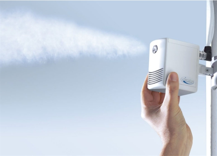 Draabe NanoFog Humidifier - Single atomizer with one stainless steel nozzle