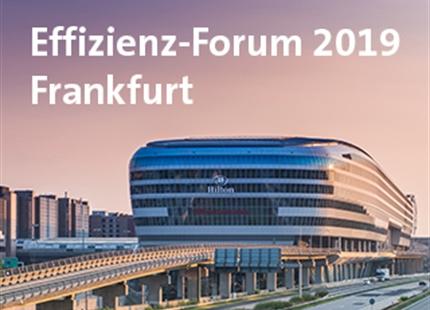 Effizienz-Forum Frankfurt