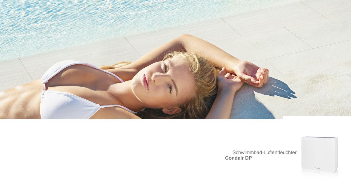 Luftentfeuchtung für den Schwimmbad-, Spa- und Therapiebereich
