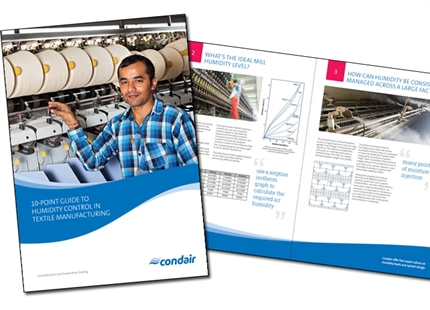 Free 10-point guide to humidity control in textile manufacturing