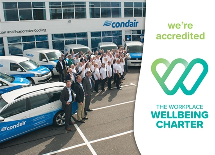 Condair Achieves Workplace Wellbeing Charter