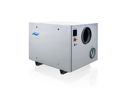 Condair DA desiccant dehumidifiers - find me in Settings > Extensions > Feed
