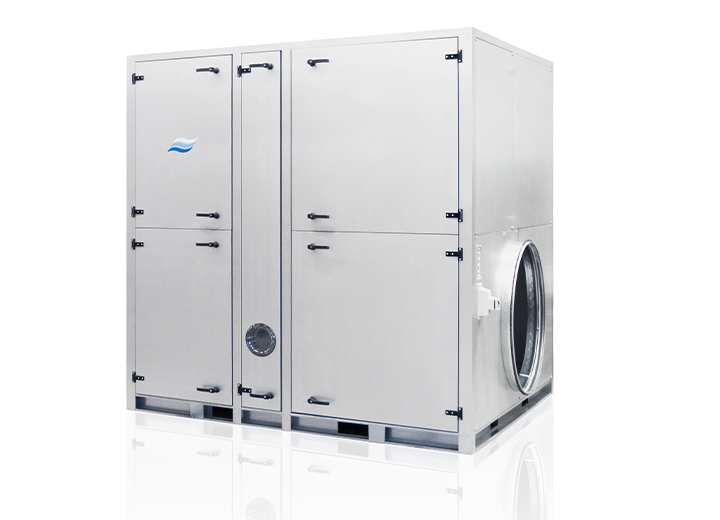 Een serie van adsorptie luchtontvochtigers voor standaard capaciteit van 0,45kg/h tot 182kg/h.