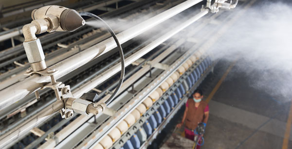 Humidifiers for Textile Manufacturing | Industrial Humidification