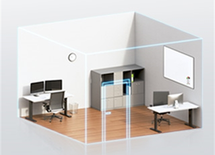 Luftfeuchtigkeit in geschlossenen Räumen