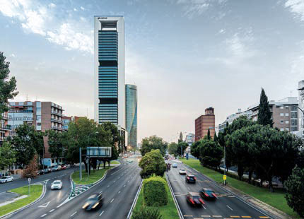 Torre Cepsa, Madryt