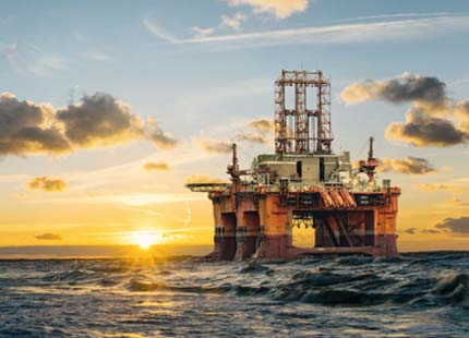 Hebron Oil Platform