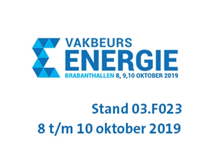 Vakbeurs Energie | 8 t/m 10 Oktober 2019 Stand 03.F023