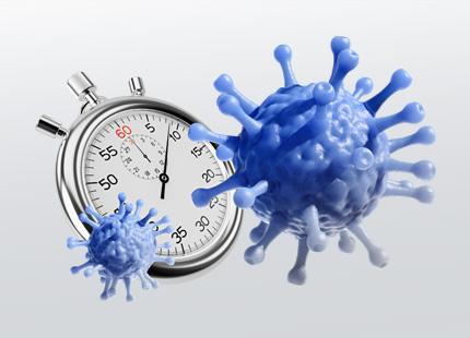 Luftfeuchtigkeit und Influenza-A-Virus