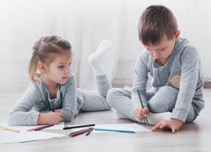 Einfluss von Luftbefeuchtung auf Kindergartenkinder