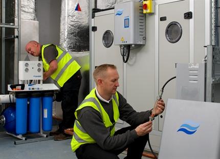 Montageunterstützung, Inbetriebnahme und Hygienechecks