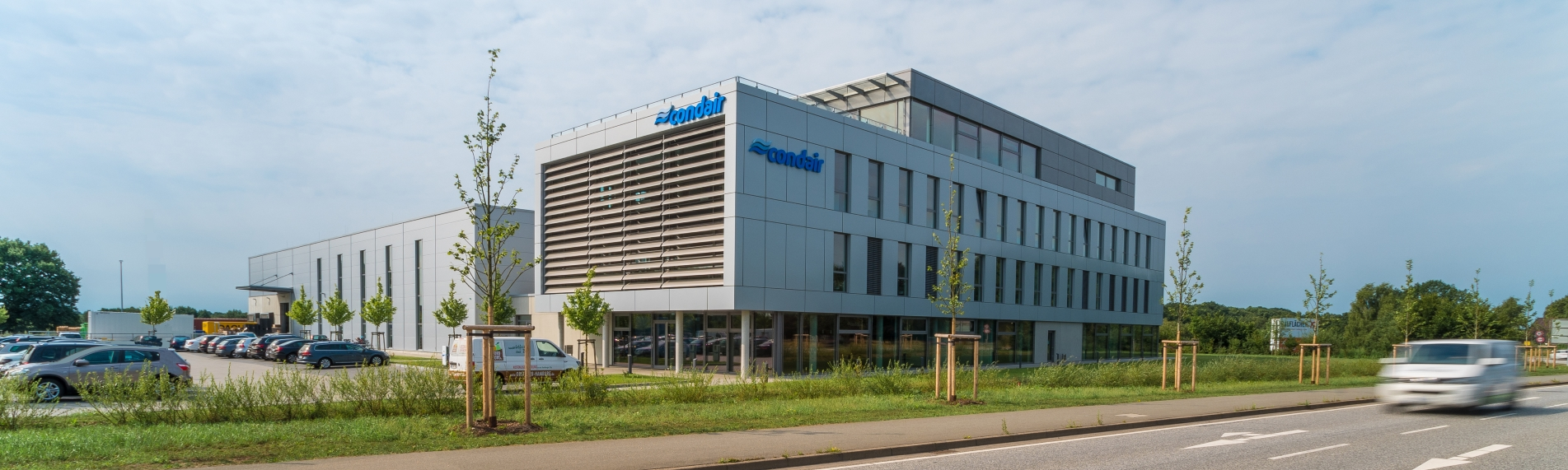 Condair Logistics and Production Center in Hamburg/Norderstedt