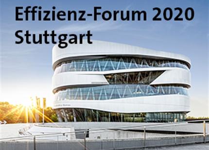 Effizienz-Forum Stuttgart