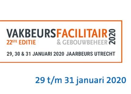 Condair B.V. op de Vakbeurs Facilitair en Gebouwbeheer in de Jaarbeurs in Utrecht, stand H35