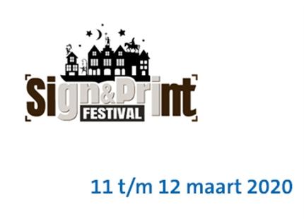 Bezoek Condair B.V. stand C103 - Sign & Print Festival in de Evenementenhal Gorinchem