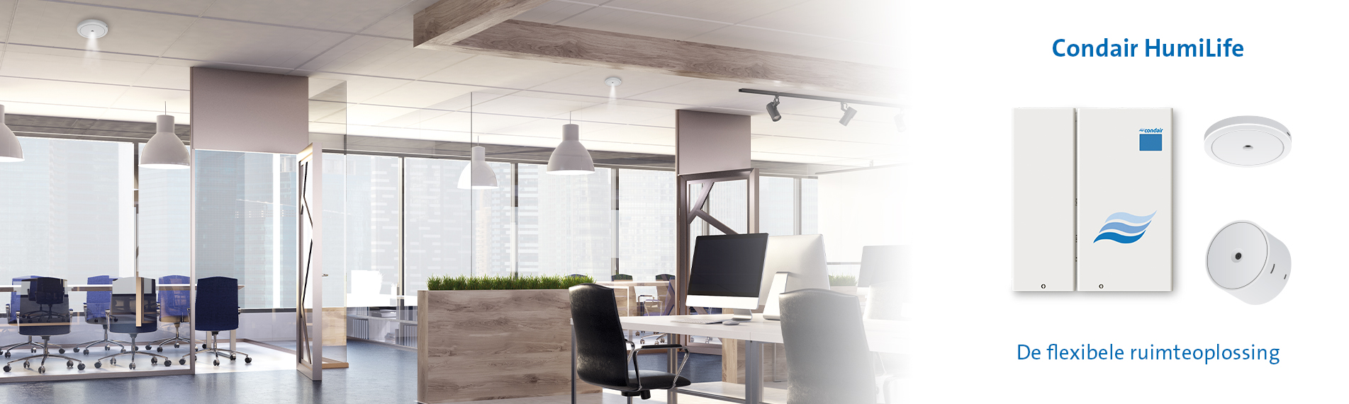 Condair HumiLife kantoor
