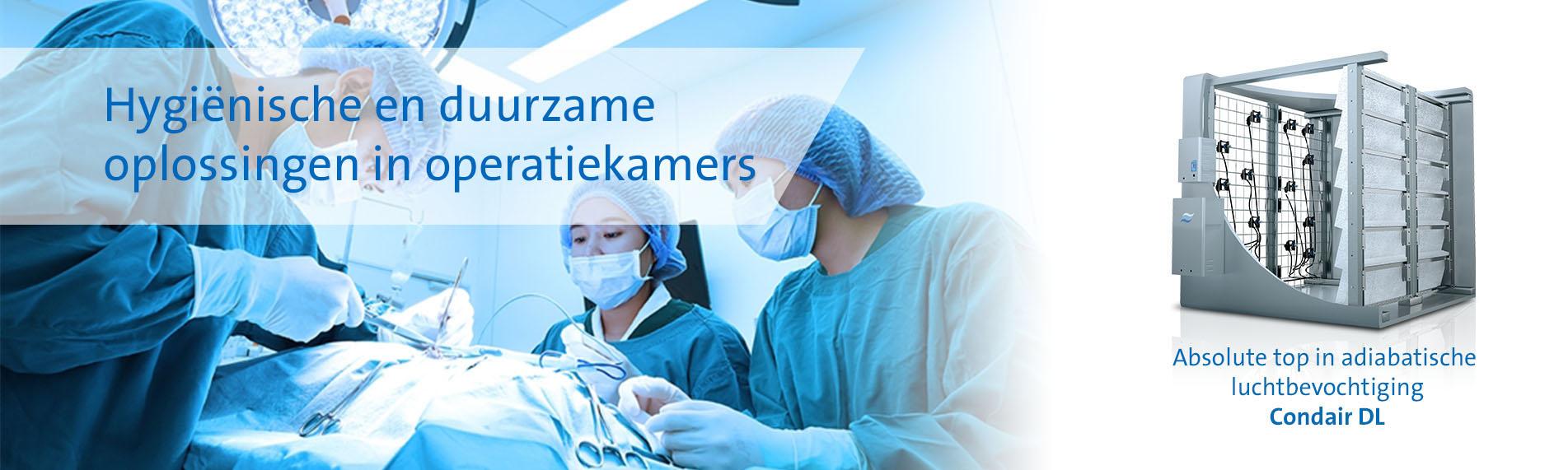 Hygiënische en duurzame oplossingen in operatiekamers
