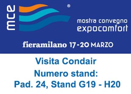 Mostra Convegno Expocomfort | 17 - 20 Marzo 2020