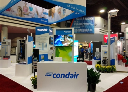 Condair shows latest dehumidifiers at ARBS 2021