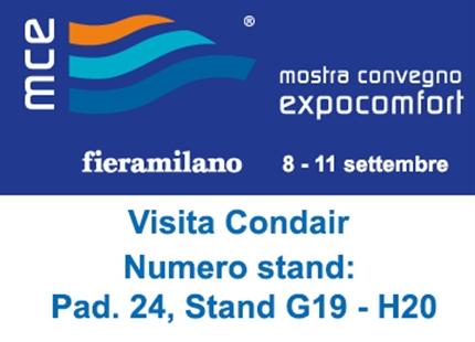 Mostra Convegno Expocomfort | 8 - 11 settembre