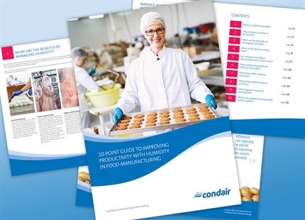 10-point guide to improving productivity with humidity in food manufacturing