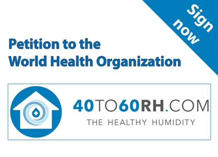 Condair supports WHO humidity petition
