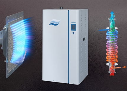 New Condair condensing gas-fired humidifier