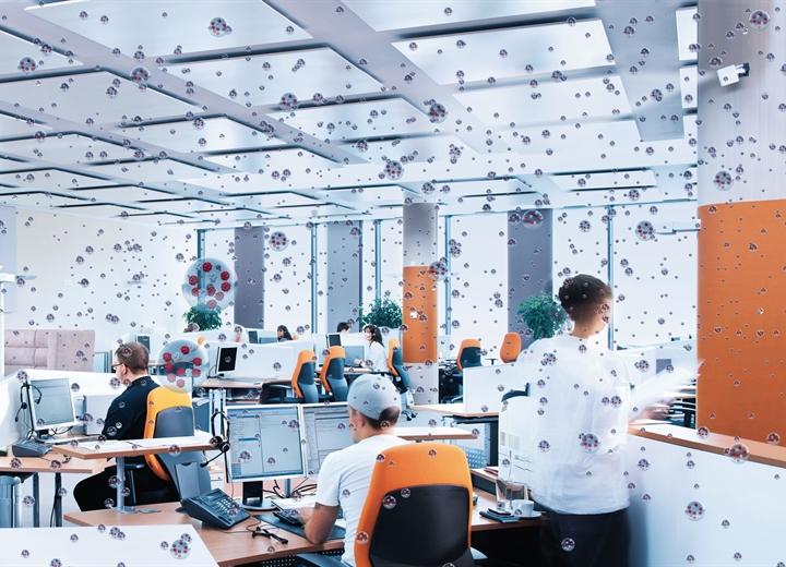 Warum eine zusätzliche Luftbefeuchtung am Arbeitsplatz wichtig ist