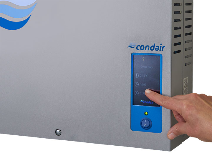 Condair RM touch screen controller