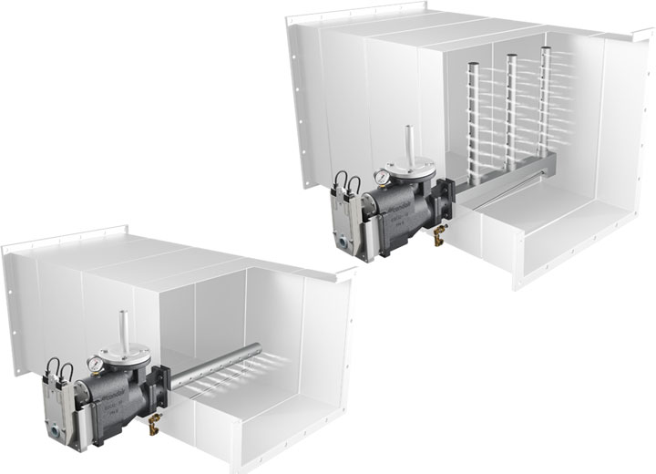 Condair ESCO offers a choice of steam pipe configurations