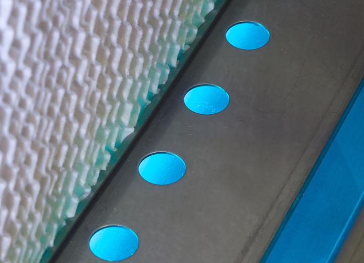 Hygienisk drift med integrerad UV-vattenrening