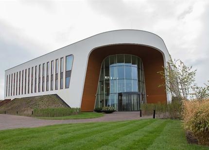 Condair RS luchtbevochtiging in Oogcentrum Noordholland, Heerhugowaard