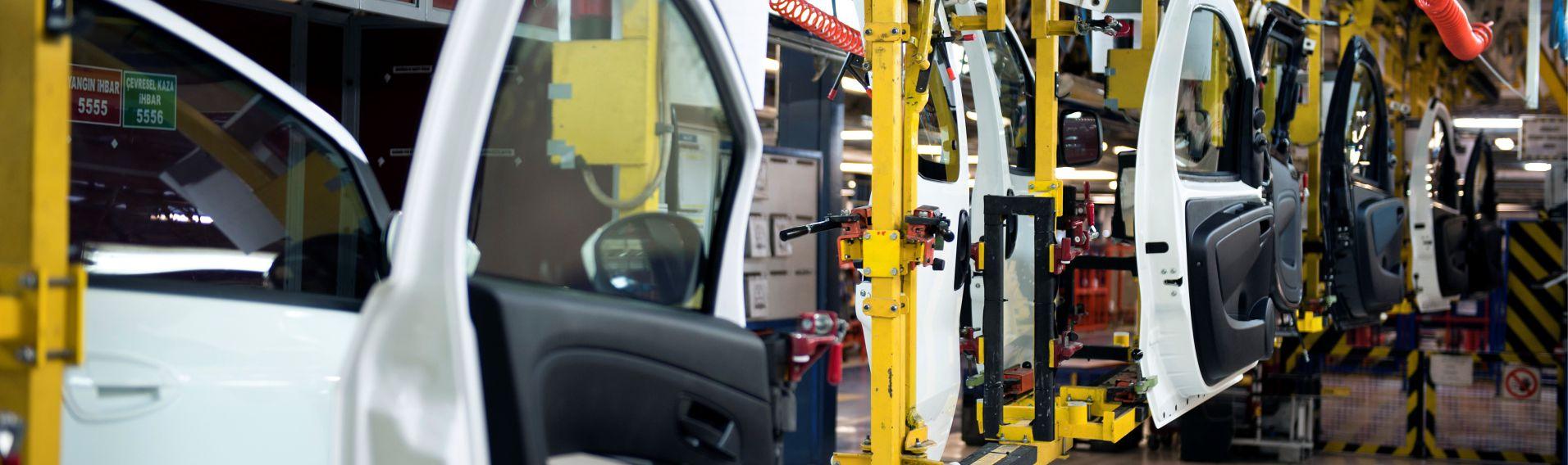 Automotive factory assembly line
