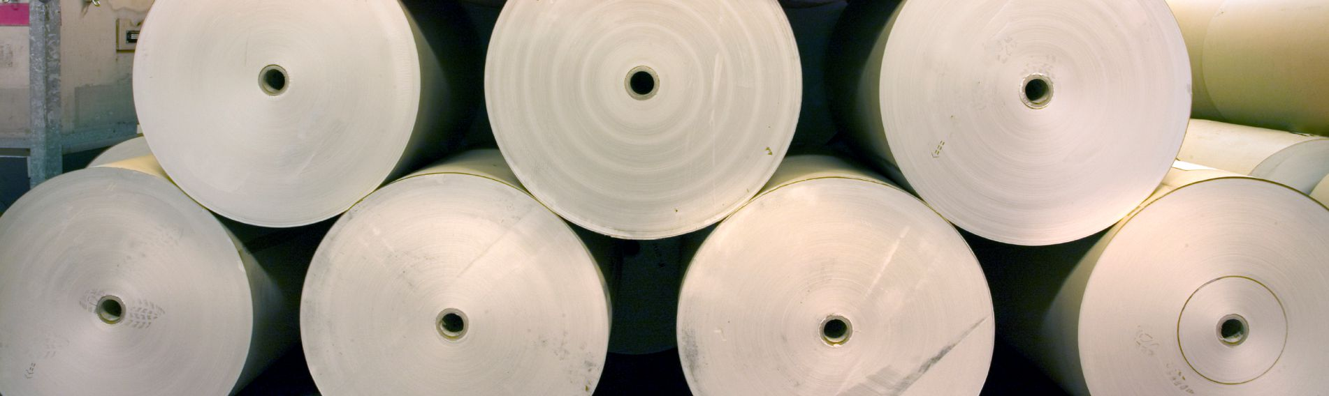 Large rolls of paper