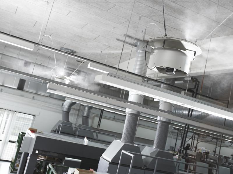 Nå energibesparing som elektronikproducent med Condairs kylning och luftbefuktning