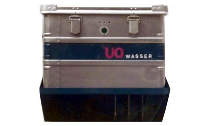 DRAABE Eigenentwicklung des Reinwasser-Containers