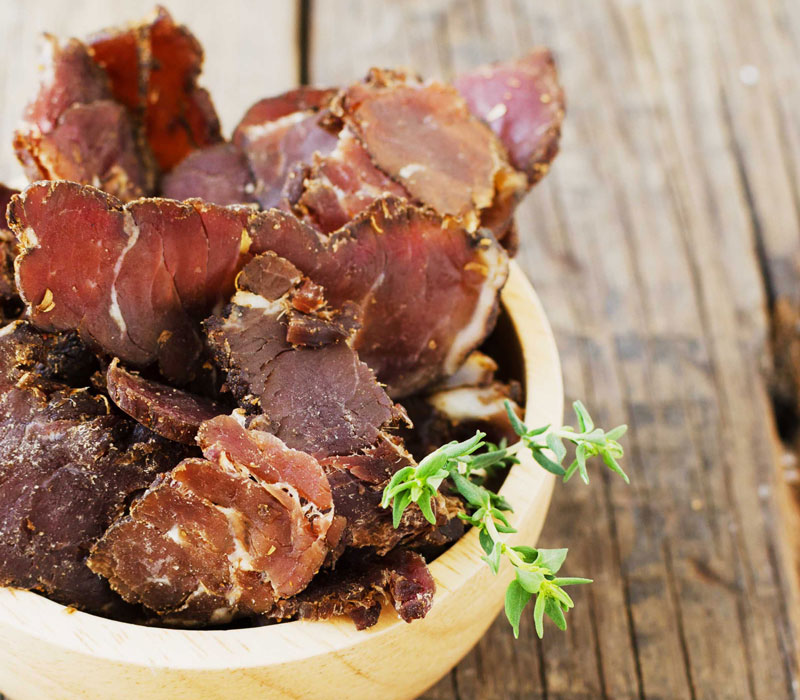 The Savanna's award winning biltong