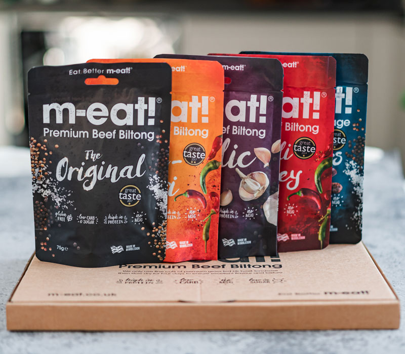 m-eat! biltong for delivery across the UK