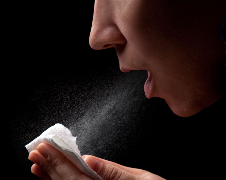 Dry air and airborne infection