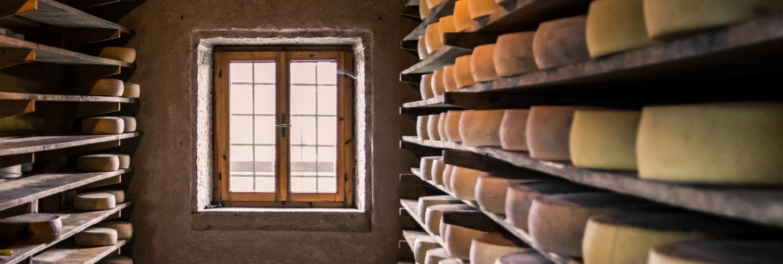 Humidification for cheese curing