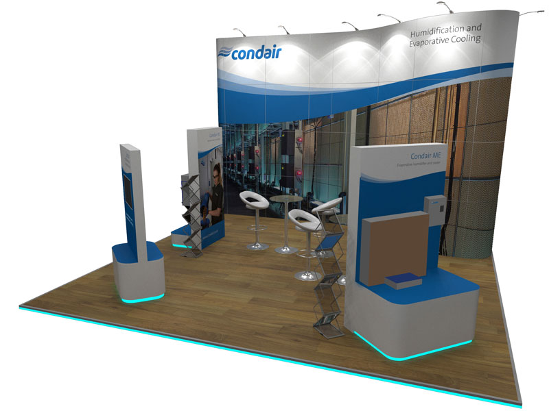 Condair stand at Data Centre World