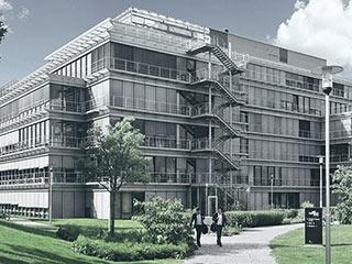 Kampus Kronberg využívá odpadní teplo z plynových parních zvlhčovačů