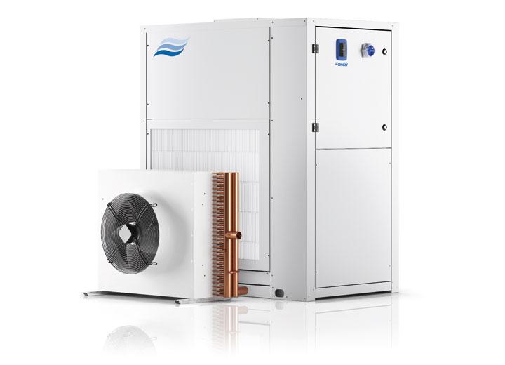 Condair DC-N condensing dehumidifier with external condenser