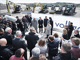 Groundbreaking in Norderstedt