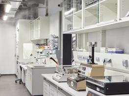 TurboFog Luftbefeuchtung im Labor