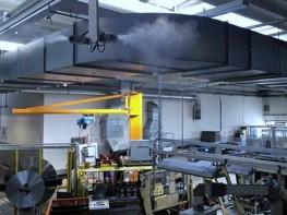 DRAABE TurboFogNeo Luftbefeuchter im Einsatz bei Volkswagen